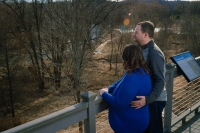 Maywood-Outdoor-Couple-Portrait-Overlook-Trees-36