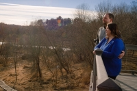 Maywood-Outdoor-Couple-Portrait-Overlook-Trees-37