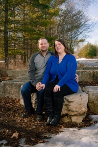 Maywood-Outdoor-Couple-Portrait-Sitting-On-Rocks-Trees-44