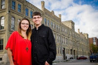 Pabst-Brewery-Milwaukee-Engagement-Portrait-Couple-Maegan-Patrick-045